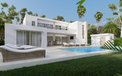 Villa Coralreef en Casa Linda – Estilo Contemporáneo y Único