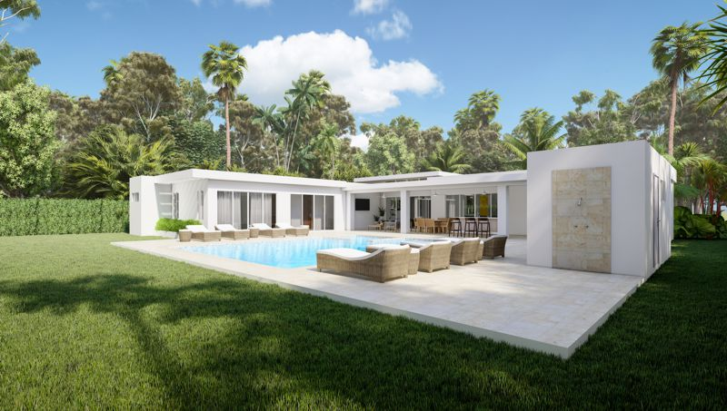 dominican republic luxury villa plans