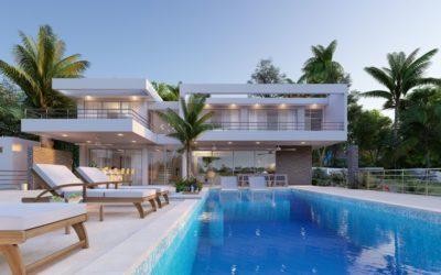 Villa Seashell en Casa Linda