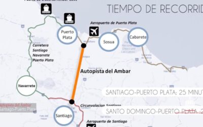 New Ambar Coast Highway from Puerto Plata to Santiago Will Cut Travel Time to a Half Hour