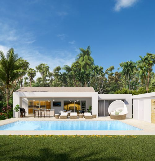 Dominican Republic Homes With Casa Linda