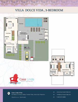casa linda villa floor plans